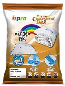 12 x pack sac de rangement aspirateur pour economise l 39 espace vetements 80x60 cm dihome tm. Black Bedroom Furniture Sets. Home Design Ideas