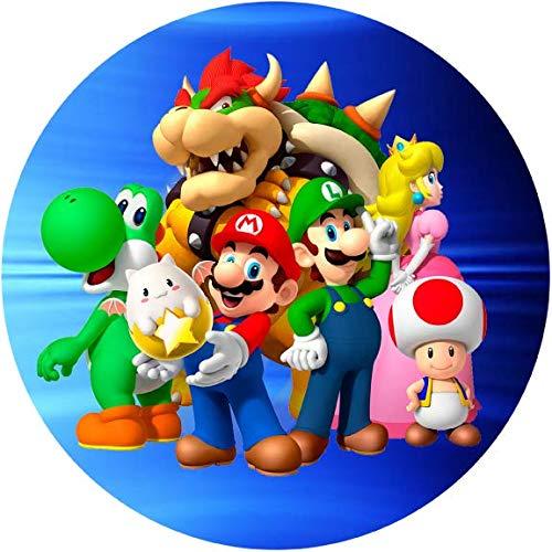 Tortenaufleger Super Mario3 / Lieferung 2 bis 5 Werktage
