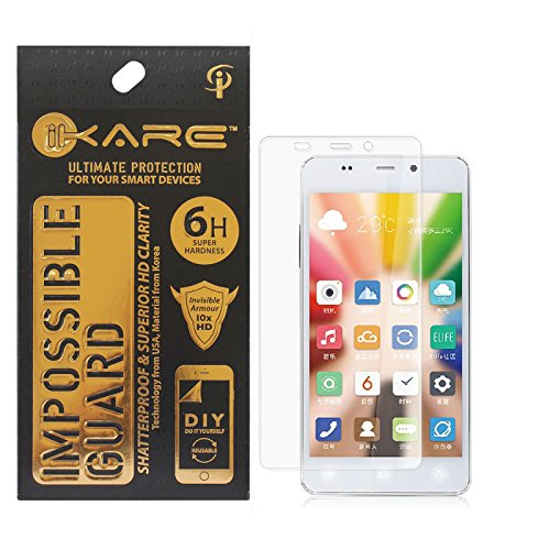 iKare Fiber Tempered Glass Screen Protector for Gionee S Plus (REUSABLE, ULTRA CLEAR, REAL SHOCK PROOF, UNBREAKABLE)  available at amazon for Rs.199