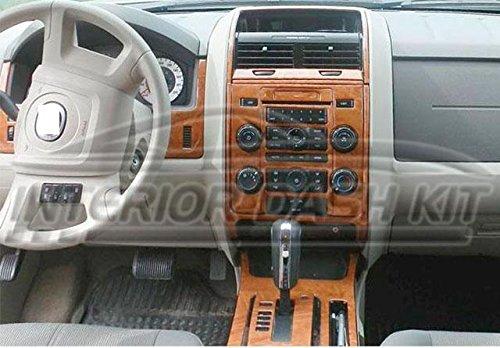 Ford Escape Interior Holz Dash Trim Kit Set 2008 2009 2010 2011 2012 (2010 Ford Escape)