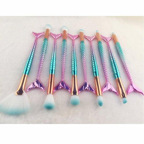 HENGSONG Make Up Pinsel Set Professionelle Kosmetik Make up Bürsten Pinsel Kit für Foundation Eyebrow Eyeliner