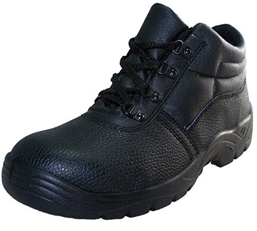 Safety-Site Chukka Boot Steel Toe Cap Black Size 9 - 43 EU / 9 UK - 43 EU / 9 UK Safety Chukka Boot