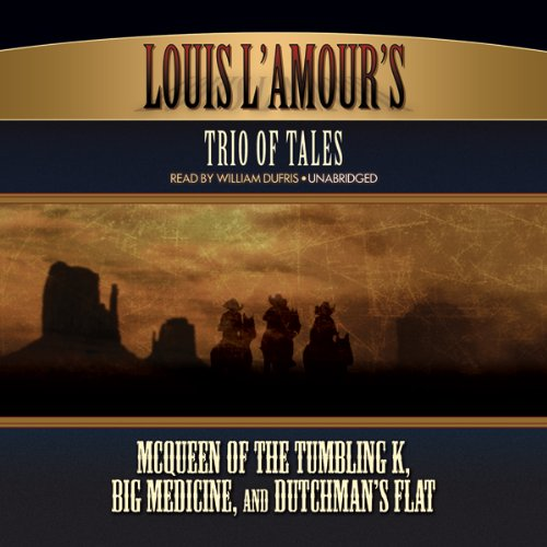 Louis L'Amour's Trio of Tales  Audiolibri