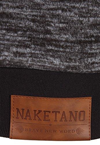 Naketano Female Zipped Jacket Dreisisch Euro Swansisch Minut Anthracite Melange