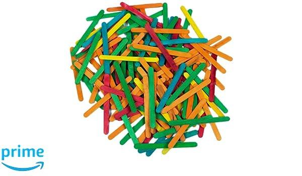 Creation Station Jumbo Lollipop Sticks Mehrfarbig