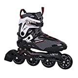Unbekannt Tempish HX 1.6 84 / HX 1.6 90 Inline Skates + Ultrapower Beutelrucksack | Sport | Outdoor | Roller | Rollerskates | Rollschuhe, Tempish Größe:42, Tempish Farbe:HX 1.6 84mm Black/White
