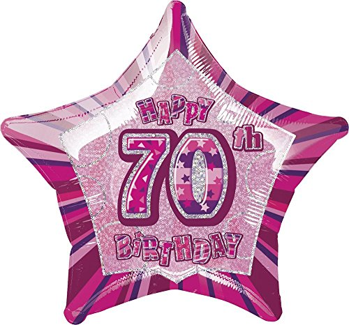 s 50,8 cm Glitz Folie Happy Birthday Helium Ballon ()