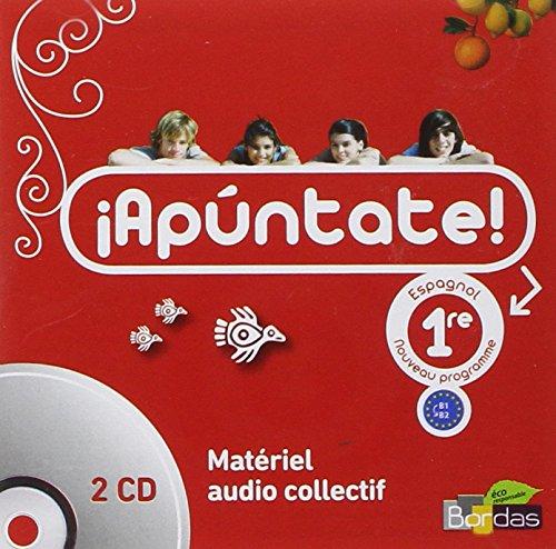 Apuntate 1re • Coffret CD audio classe