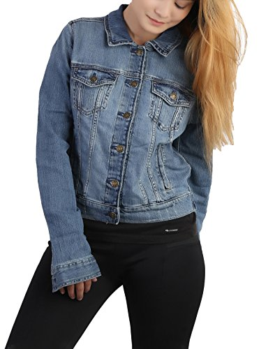KOTTY Women's Denim jacket in Light Blue