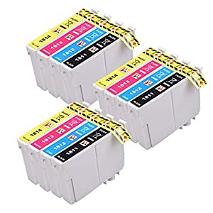 12 PerfectPrint Compatible 18XL Ink Cartridges For Epson Expression Home Printer XP-102 XP-202 XP-212 XP-215 XP-205 XP-225 XP-30 XP-302 XP-305 XP-312 XP-315 XP-322 XP-325 XP-402 XP-412 XP-415 XP-405 P405WH XP-422 XP-425 XP-405