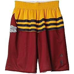 adidas SMR RN Rev Shrt - Pantalón corto para hombre, talla S, color rojo