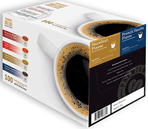ffee Kapseln, Kompatibel Keurig® K-cups 2.0, Box 100 Kapseln 4 Sorten ()