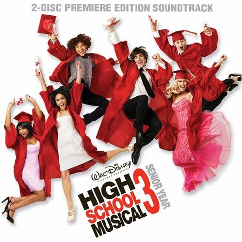 High School Musical 3: Senior Year Premiere Edition [CD+DVD] by Soundtrack Enhanced, Soundtrack, Special Edition edition (2008) Audio CD