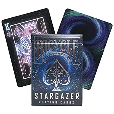 Bicycle 023181 - Jeu de cartes Stargazer