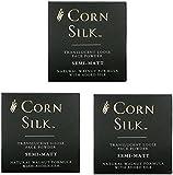 Three Pack Corn Silk Loose Face Powder Semi Matt 3x12G