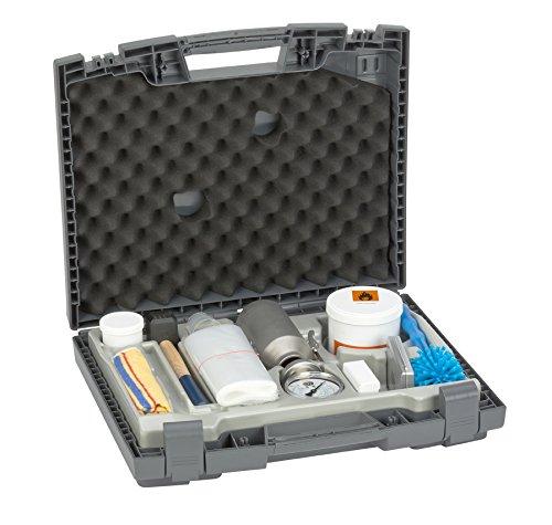Gann CMB-Pro Gerät im Koffer,Estrich Putz Beton Prüfgerät, Feuchtigkeitsmessgerät