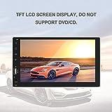 Jasnyfall Bluetooth Auto MP5 Spieler 7 Zoll TFT LCD Bildschirm FM Radio USB/TF / Aux Eingang/Auto Rückansicht Monitor 1080P Playback