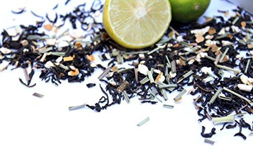 Cambridge Tea Party Lime Peel and Lemongrass Whole Leaf Loose Green Tea, 180g