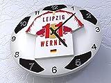 FanPlastic Timo Werner 11 RB Leipzig FC – Legends Edition Fußball-Wanduhr. !