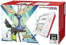 Console Nintendo 2DS - blanc & rouge + Pokémon X - édition limitée