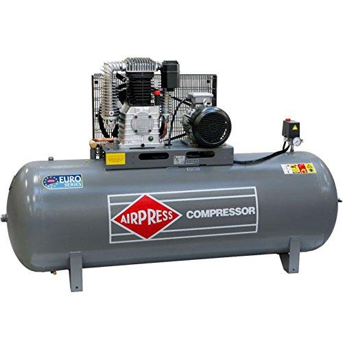 Airpress Druckluft- Kompressor HK 1000-90 (5,5 kW, max. 11 bar, 500 Liter Kessel) Stromanschluss 400 V