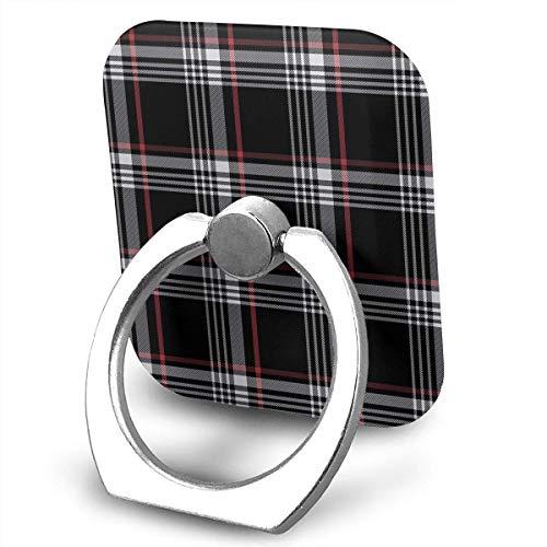 HaiYI-ltd Handy-Ringhalter Golf GTI Plaid Finger Grip Stand Halter 360 Grad Rotation Kompatibel mit iPhone Samsung Phone Case