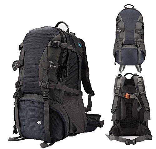 Outdoor Bergsteigen Tasche Camping Wasserdicht Reise Rucksack,LightGreen60L Blue50L