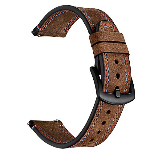 Iwc Style Without Return Motivated 20mm Green Canvas Band Buckle Nylon Leather Back Watch Strap