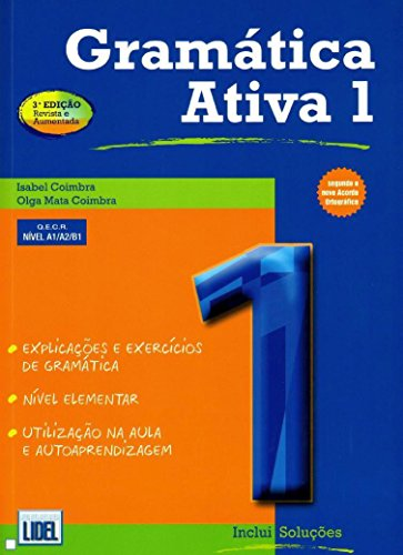 Gramatica Activa 1 (Gramtica Ativa Segundo Novo Ac) por Vv.Aa.