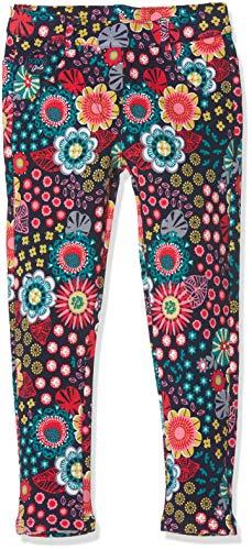 boboli Stretch Fleece Trousers For Baby Girl, Pantalones Deportivos para Bebés, (Flor 9898), 68 (Tamaño del Fabricante:6M)