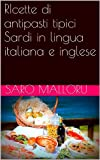 RIcette di antipasti tipici Sardi in lingua italiana e inglese