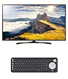 LG 65UK6400PLF 164 cm (65 Zoll) Fernseher (Ultra HD, Smart TV) + Logitech K600 Smart TV-Tastatur mit integriertem Touchpad und D-Pad - Bluetooth und USB - Graphit - Qwertz deutsches Tastaturlayout