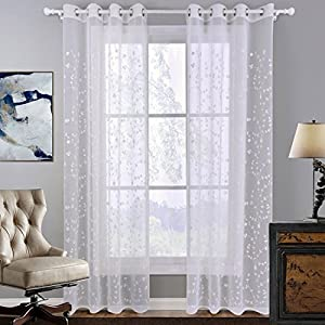 Gardinen Weiß Mit Blumen Günstig Online Kaufen Dein Möbelhaus