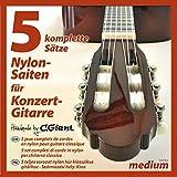 C.GIANT Konzertgitarren-Saiten - 5 Sätze