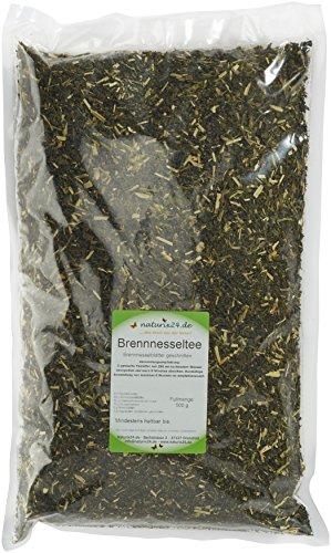 Naturix24 Brennnesseltee, Brennnesselblätter geschnitten, 3er Pack (3 x 500 g)