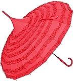 Fansport Ombrello da Donna Ombrellone Pagoda Creativa A Forma di Pizzo Ombrello da Parasole a Manico...
