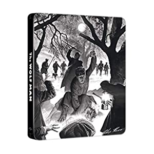 L'Uomo Lupo (Steelbook Edizione Limitata Alex Ross Art) (Blu-Ray)