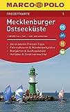 MARCO POLO Freizeitkarte Mecklenburger Ostseeküste: Toeristische kaart 1:100 000 -