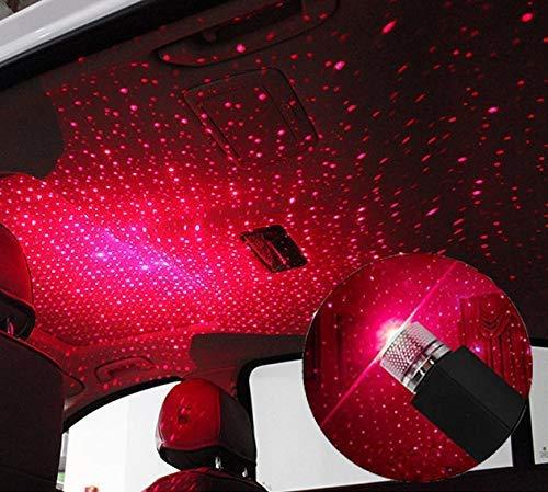 Mini luci notturne a soffitto per proiezione Universale USB Starlight per Auto//casa//Festa luci Plug And Play per Auto Non /è Necessario installare Baiwka Luci romantiche per tetti a Stella