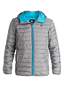 Quiksilver Scaly Active Veste Homme Steeple Gray FR : S (Taille Fabricant : S)