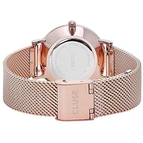 Cluse Damen Armbanduhr Analog Quarz Edelstahl - 3