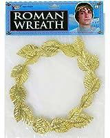 Forum Novelties Inc. Roman Gold Leaf Wreath Headpiece Costume Accessory (Standard)