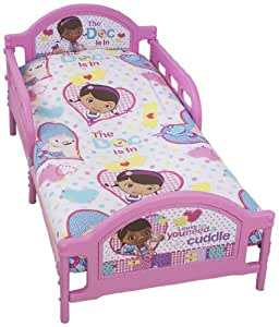 Character World Disney Doc McStuffins Patch Toddler Bed ...