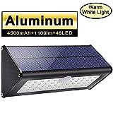 Licwshi Unique High Quality aleación de aluminio negro Housing 46 LED 120 ° diseño de iluminación de ángulo amplio Solar Exterior Security Wall Light iluminará tu vida!   Atención, por favor:   El uso de las luces solares al aire libre de Li...