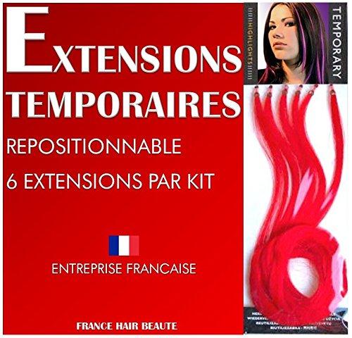 EXTENSIONS CHEVEUX ROUGES SUR AMAZON. 6 EXTENSIONS PAR SACHET. FIXATION A FROID SANS FER ET SANS CHALEUR. LES ACCESSOIRES CHEVEUX DE FRANCE HAIR BEAUTE SONT DE QUALITE PROFESSIONNELLE UTILISES PAR LES PROFESSIONNELS DE LA COIFFURE. Boutique FRANCE HAIR BEAUTE copier/coller ce lien : https://www.amazon.fr/s?ie=UTF8&me=AS43L7ZQKLNBO&page=1