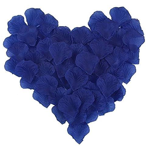 Candora® vintage 2000pc/Lot Belle pétales de mariage Fleurs en soie Rose en Soie Décoration pour mariage