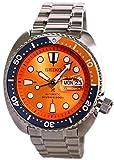 SEIKO PROSPEX Turtle Diver's 200m Montre automatique à cadran orange SRPC95K1