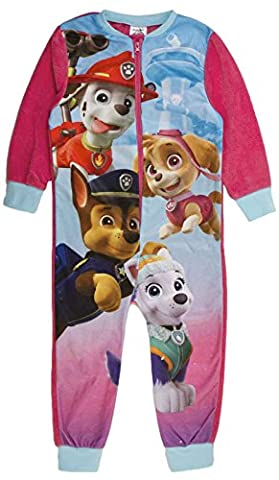 Various - Grenouillère - Manches Longues - Fille vert Paw Patrol - 4 Character 2-3 ans
