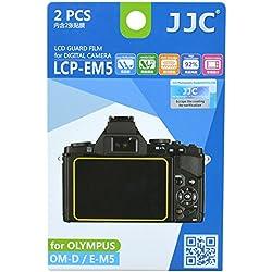 JJC Guard Film Protection d'écran pour Olympus Om-D EM-5 (2 pièces) - Protection d'écran antireflet!