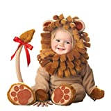 Kenmont Kleinkind Baby Säugling Spielanzug Tier Kostüm Overalls Foto-Prop Outfits Weihnachten Halloween Outwear Bodys (Löwe, 80)